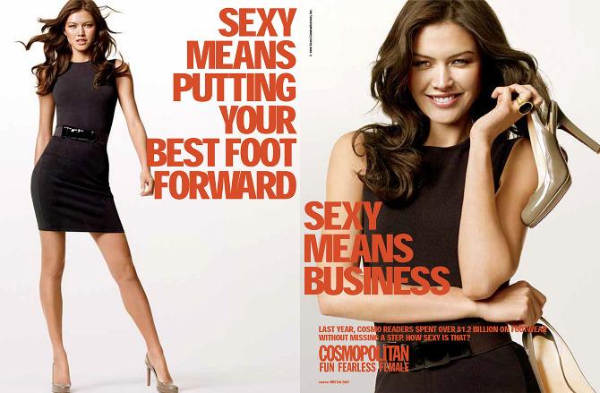 Cosmopolitan Magazine Advertising - Jennifer Waverek