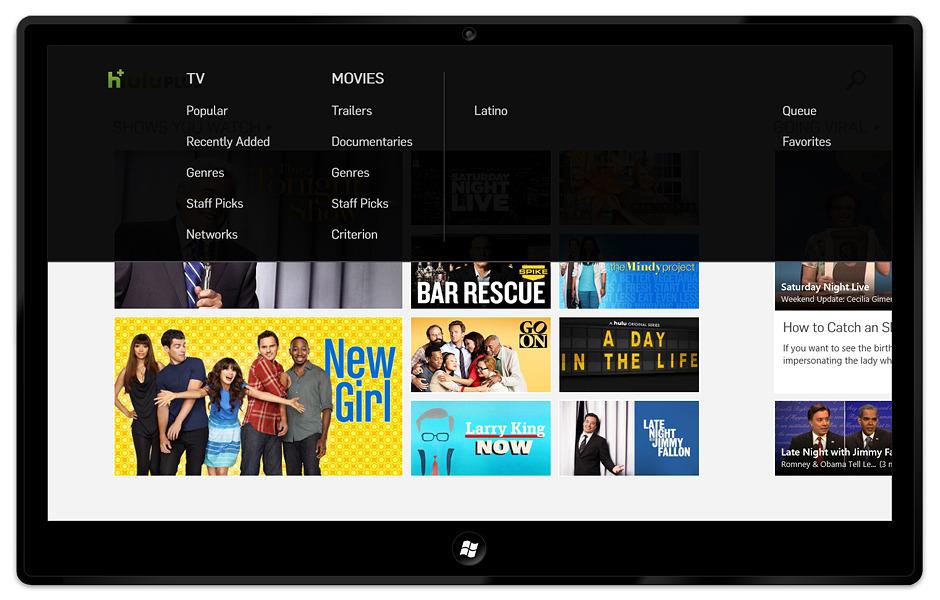 Hulu Plus App for Windows - Connie Yen